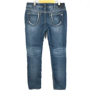 Silver suki slim jeans 34x34